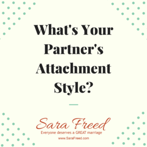 What's Your Partner's Attachment Style?